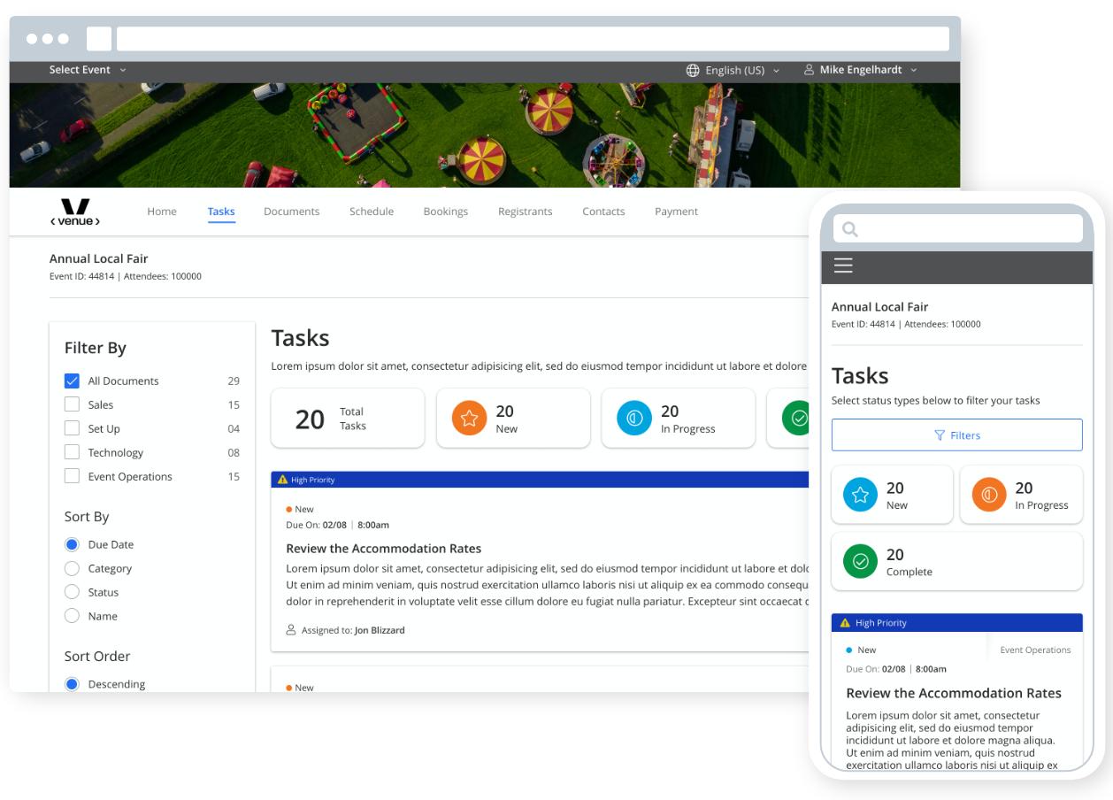 Ungerboeck order management software for fairgrounds