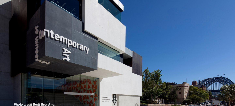 The Museum of Contemporary Art by Brett Boardman website