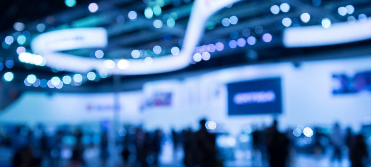Messe exhibition show floor
