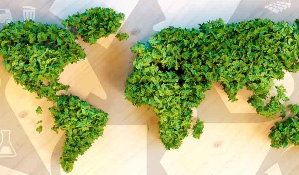 Nachhaltigkeit Eventbranche Messebranche gruene Welt