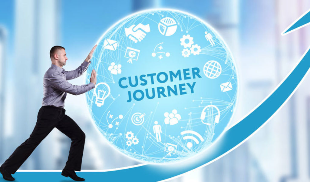 Customer journey arrow improve