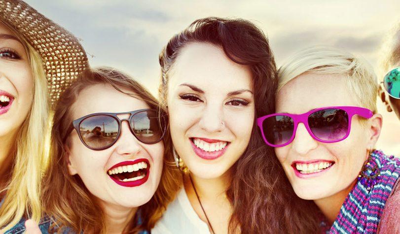 Women millennials girls young