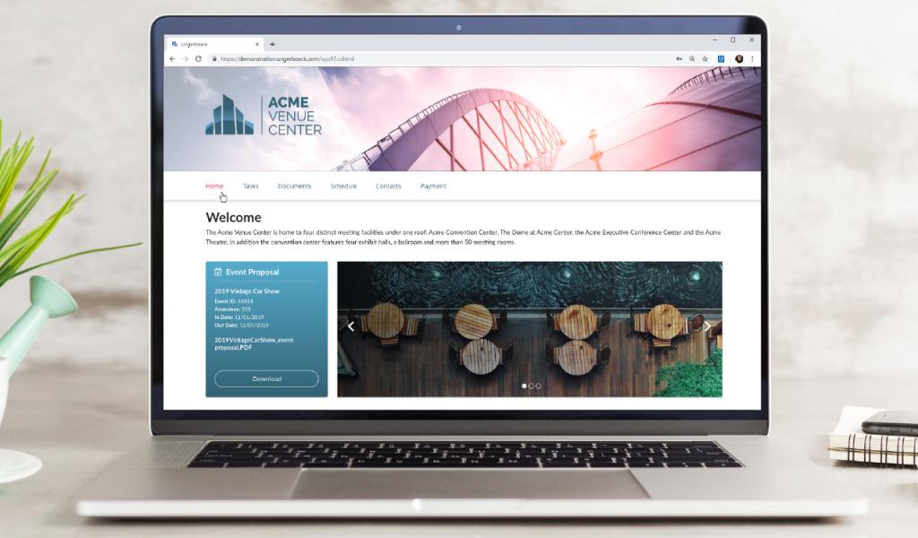 Event Planner portal
